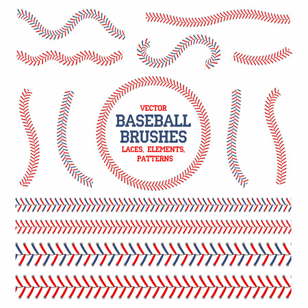 Baseball laces set