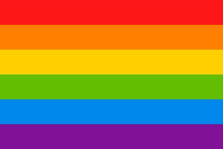 LGBT flag Ilustrace