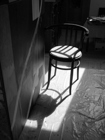 cosily: Chair and its shadow
