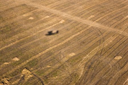 Aerial photos of West Siberia for backgrounds and textures