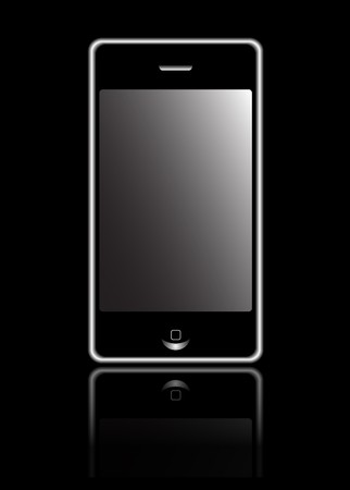 smart phone  with touchscreen Stock Photo - 7023697