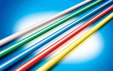 network colour cable photo