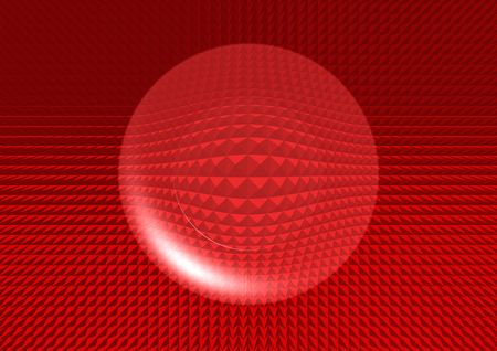 red structure button photo