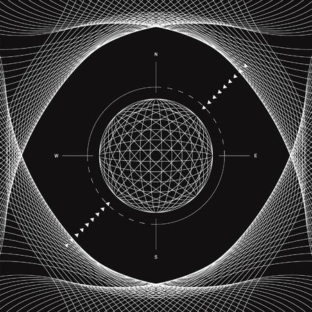 end line: vector archivo en blanco y negro l�nea de arte