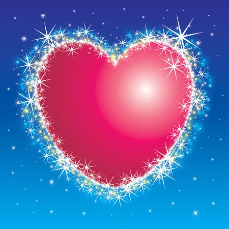 gentillesse: brillant coeur  Illustration