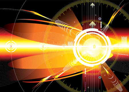 vector file of energy space background Vector