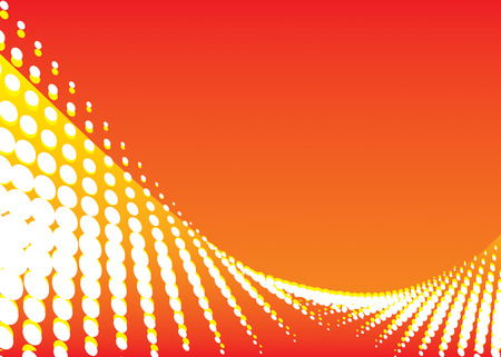 bends: vector file of red color wave background
