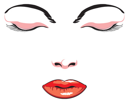 vector illustration of simple face Stock Vector - 2225851