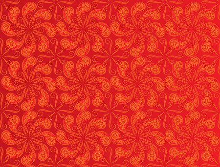 vector file of red color pattern design Vector