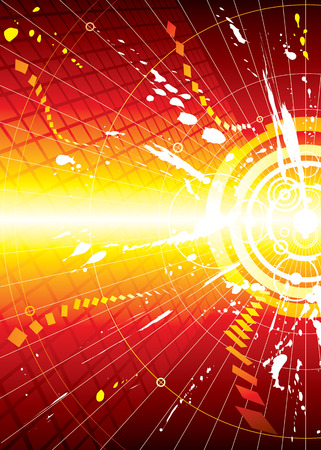 vector file of Explosion infinity space background Ilustrace