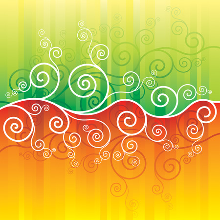 vector of spring and summer abstract background Stock Vector - 2691522