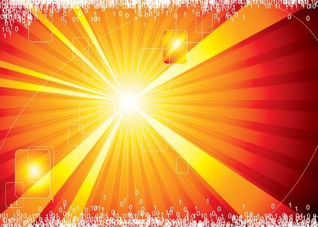 Internet hot Hintergrund, Vektor-Illustration Schichten-Datei.