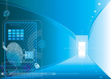 sensores: Concepto de acceso de seguridad, capas vectoriales.