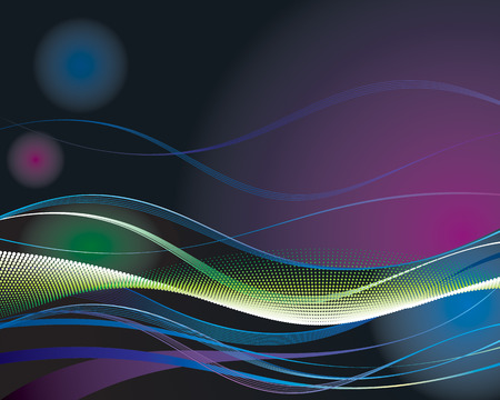 Digital Wave, vector layered of abstract wave background. Vector