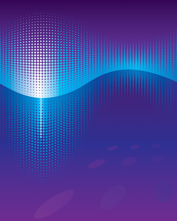 Equaliser Waveform abstract background. Vector layered.