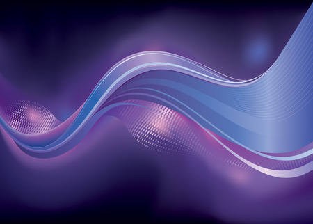 Abstract dark colors Wave background. vector layered. Stock Vector - 5927412