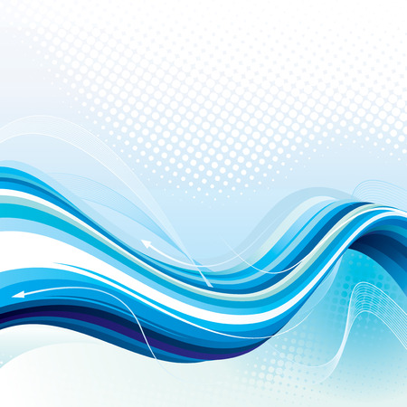 Digital Stream. Abstract technology background, vector layered. Vector