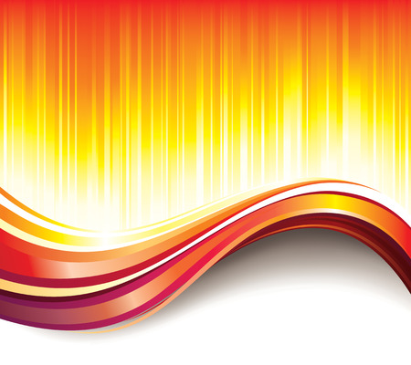 Glittering hot wave summer abstract background. Vector