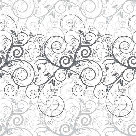Floral seamless background Stock Vector - 7551916