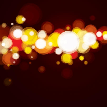 Abstract lighting background, bokeh red  Stock Vector - 14162585