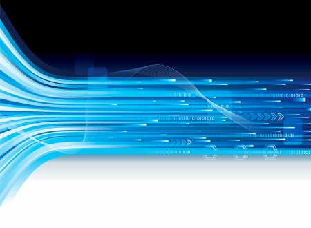 Abstracte achtergrond van de technologie-verbinding. Stock Illustratie
