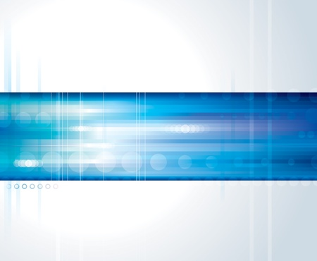 Abstract technology digital blue background.