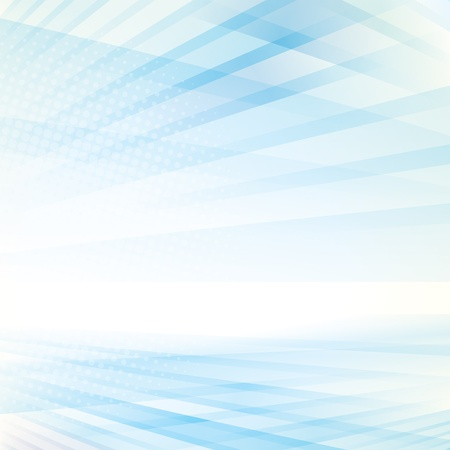 Abstract smooth light blue perspective background. Vectores