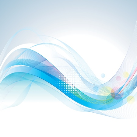 Abstract smooth lines wave background