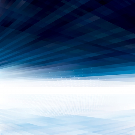 Abstract virtual space perspective background  Vectores