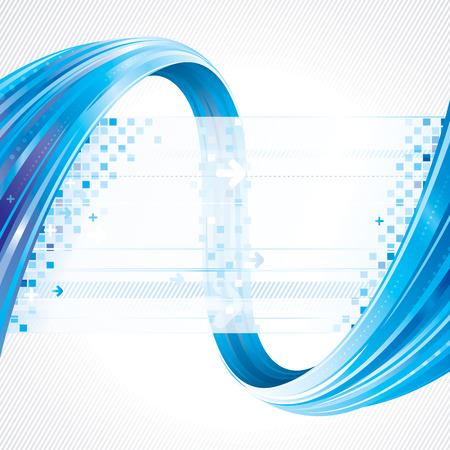 digitální: Abstraktní pozadí technologických spojů