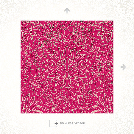 vector pattern: Seamless vector of Classical Chinese Pattern
