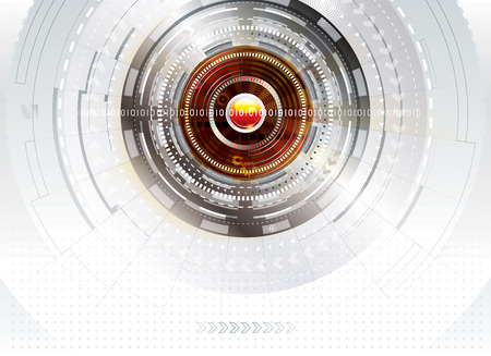 Abstract digital technology concept background Stock Vector - 26079977