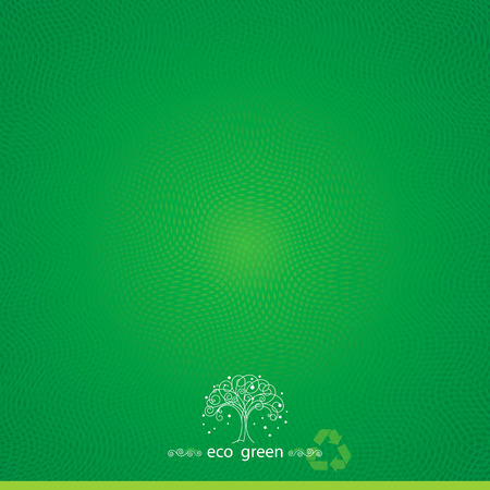 Green eco textured abstract background  Vector