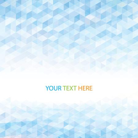 Abstraktní pohled geometrické světle modré pozadí Ilustrace