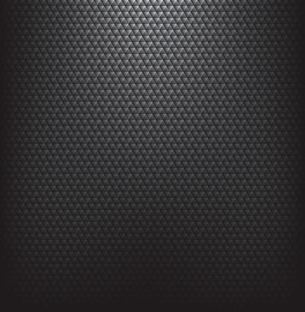 技術: 抽象的黑色紋理的技術背景。 向量圖像