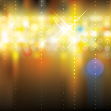 Abstract festive lighting blurry background. Vector