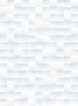 White tiles texture abstract background. Illustration