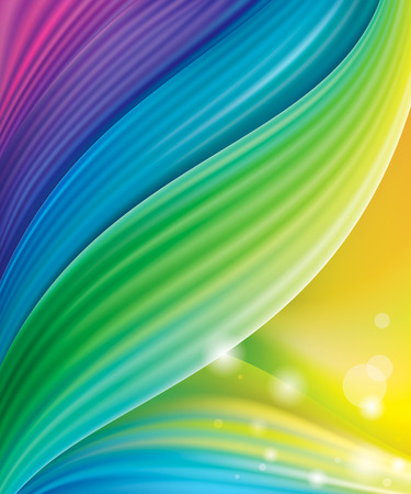 Colored abstract screen wallpaper modern background. Illustration
