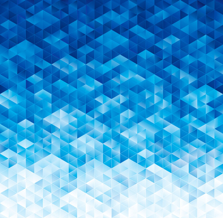 Abstract geometric blue texture background.
