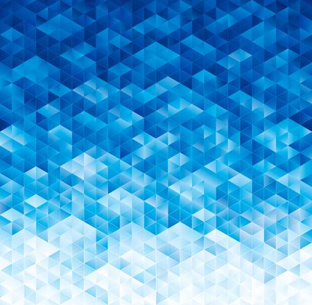 abstrakte muster: Abstrakte geometrische blaue Textur Hintergrund. Illustration