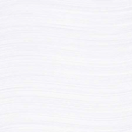 on white background: White wavy stripes texture paper or background.