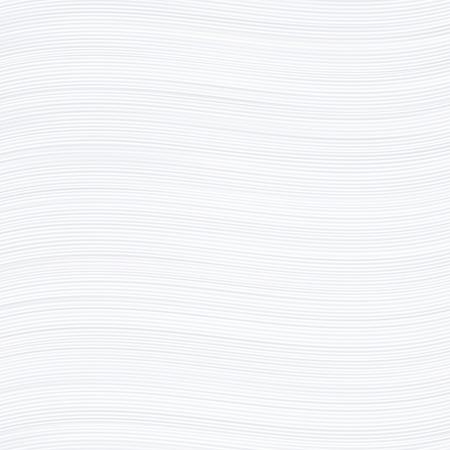 Witte golvende strepen textuur papier of achtergrond. Stock Illustratie