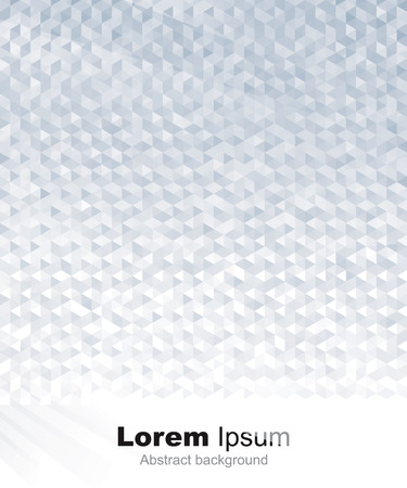 抽象的な幾何学的な灰色または銀背景。  イラスト・ベクター素材