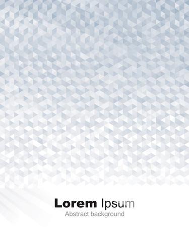 geometric background: Gris geom�trico abstracto o fondo de plata.