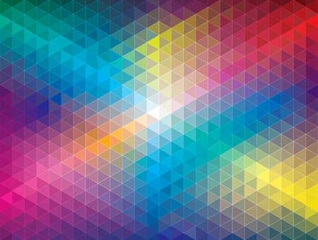Geometric color pattern abstract background.