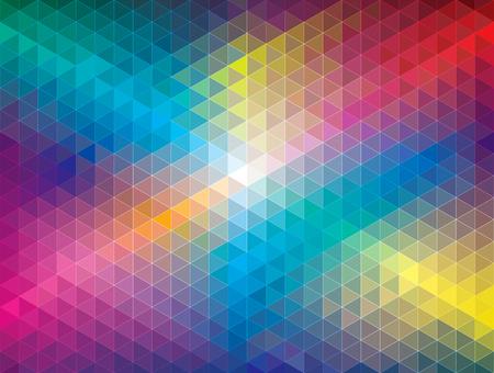 Geometrisch kleur patroon abstracte achtergrond.