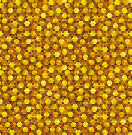 textured effect: Geometric golden glitter seamless background.