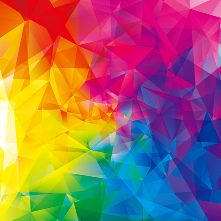 Abstract geometric pattern colorful modern background.