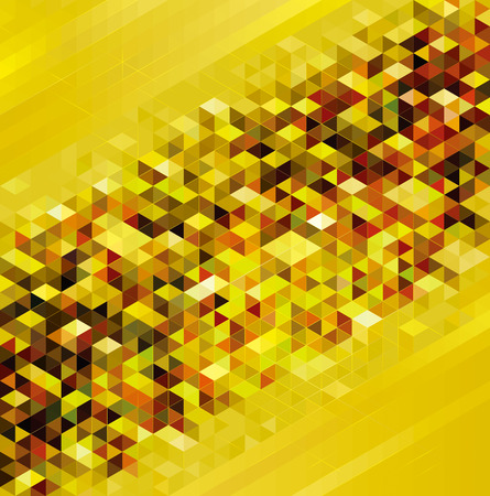 Geometric shapes golden texture abstract urban background.