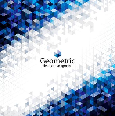 Geometric modern urban abstract pattern background.